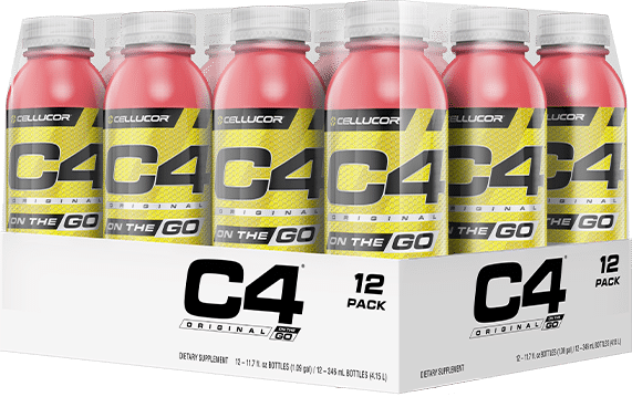 C4 On The Go >> Cellucor C4 On The Go 12 Pack 11 7 Oz
